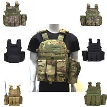 Outdoor Hunting Vests Tactical Vest Military Men Clothes Army CS Equipment Accessories Airsoft Body Armor Painball