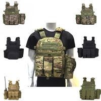 Outdoor Hunting Vests Tactical Vest Military Men Clothes Army CS Equipment Accessories Airsoft Body Armor Painball Vest