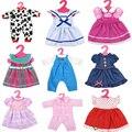 Бесплатная доставка American Girl Куклы платье для 18 дюймов reborn Baby Doll Аксессуары