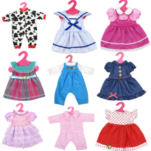 free shipping American Girl Doll Clothes dress for 18 inch reborn Baby Doll Accessory