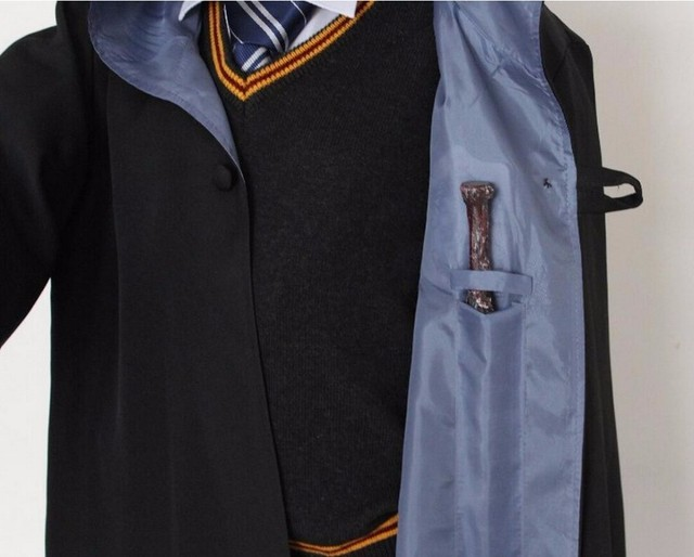 Robe Cape Cloak Gryffindor Slytherin Ravenclaw Hufflepuff Robe Cosplay Costumes Kids Adult for Harri Potter Cosplay 5
