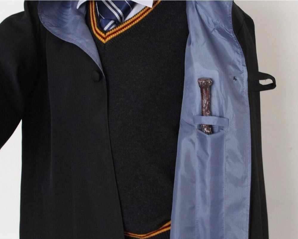 Плащ-накидка Гриффиндор Слизерин Ravenclaw халат Хаффлпафф Детский костюм для косплея для взрослых
