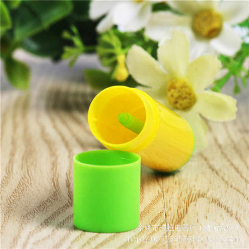 1 Pcs 2019 Baru Kedatangan 5G Plastik Kosong Tabung Lipstik Mini DIY Bambu Lip Balm Wadah Portabel Lotion Wadah untuk Perjalanan
