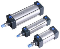 Free shipping high quality SC40 series bore 25mm to 1000mm stroke Standard cylinder air pneumatic cylinder