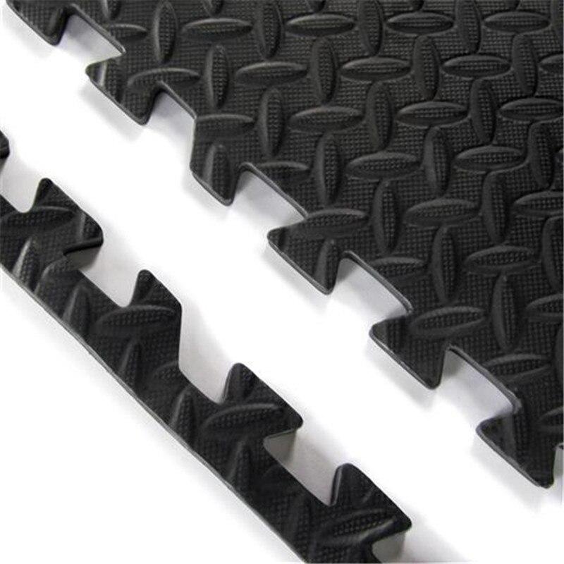 6Pcs/set Foam Puzzle Yoga Mat Interlocking 63*63cm EVA Foam Tiles Puzzle Exercise Mat Fitness Floor Gym Workout For Yoga JSX