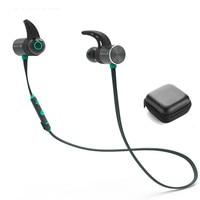 Plextone BX343 Wireless Headphone Bluetooth IPX5 Waterproof Earbuds Magnetic Headset Earphones With Microphone