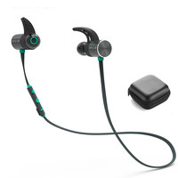 Plextone BX343 Wireless Headphone Bluetooth IPX5 Waterproof Earbuds Magnetic Headset Earphones With Microphone