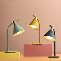 Nordic настольный свет гостиная прикроватные романтический лампа спальня настольная лампа led личности украшения настольная лампа LU8221814
