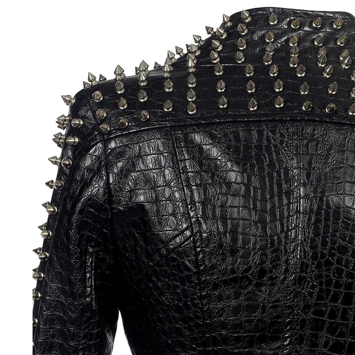 Outono quente grosso longo casaco de couro preto mulheres nova reversão delgados blusão de couro PU Parka chamariz a Mujahir WZ791 - 6