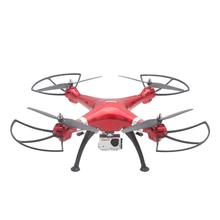 X8HG 2.4Ghz 6 Axis 4CH RC Quadcopter 1080P 8.0MP Camera Headless Mode Helicopter Drone Camcorder RTF Red Aircraft