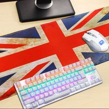 UK Flag Rubber XL Ultra Large Size 900*400 Anti-Slip Mouse M