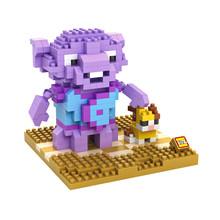 LOZ 9489 Crazy Aliens Captain Smek Educational Kids Diamond Bricks Minifigures Building Block Compatible with Legoe