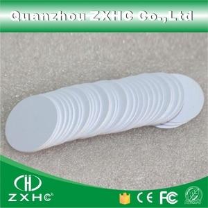 Image 5 - (10 adet) yuvarlak Şekil 25mm NFC Etiketi Ntag216 888 Bytes Plastik PVC Para kartı Kullanılan Android Için, IOS Ve Tüm NFC Telefon