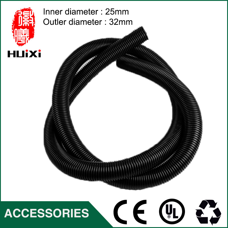 1m Inner Diameter 25mm Black High Temperature Flexible EVA Hose of Vacuum Cleaner supply equipment of drainage/irrigation vacuum pump inlet filters f007 7 rc3 out diameter of 340mm high is 360mm