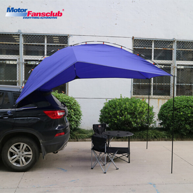 1pcs Universal Car Cover Sun Shelter Camping Tent Awning Accessories
