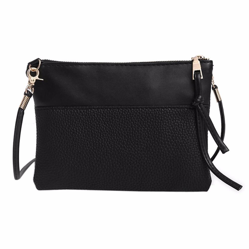 Simple PU Leather Mini Women Fringed Crossbody Bag Tassel Messenger Shoulder Bag Women Bags Bolsos Mujer Bolsas Feminina sac New