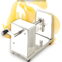 New Stainless Steel Sweet Potato Chips Cutter Machine HomeMade Chips 1 2mm Thickness Slicer Chopper Hand style Julienne Peeler