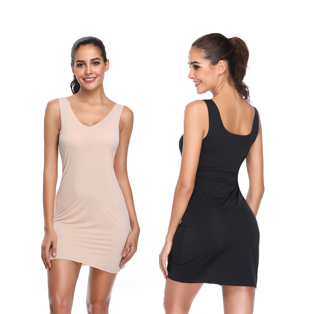 Slimming & Shaping Camisole | Black tank tops, Camisole