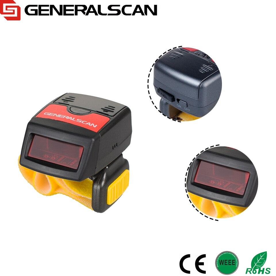 Лидер продаж Generalscan GS R1000BT Мини Bluetooth кольцо сканер штрих-кода