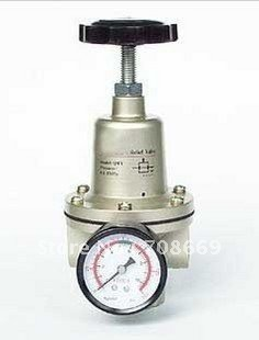 QTY-40 Pneumatic Air Pressure Regulator 1-1/2 BSPT with Gauge 11000 L/min free shipping g1 ports air filter regulator model aw5000 10 with pressure gauge 5pcs in lot high flow rate in stock