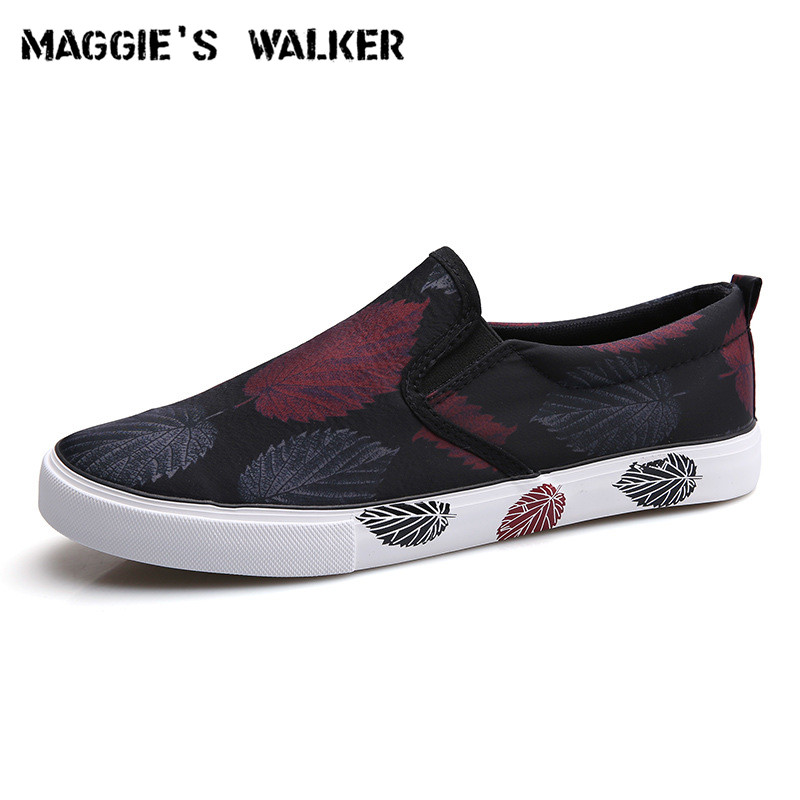 Maggie's Walker Men Trendy Casual Shoe Canvas Slip-on Spring Casual Shoes Platform Outdoor Loafers Size 39-44 free shipping spring and summer casual shoes men s platform shoes trendy lacing outdoor shoes fashion casual shoes size 39 44