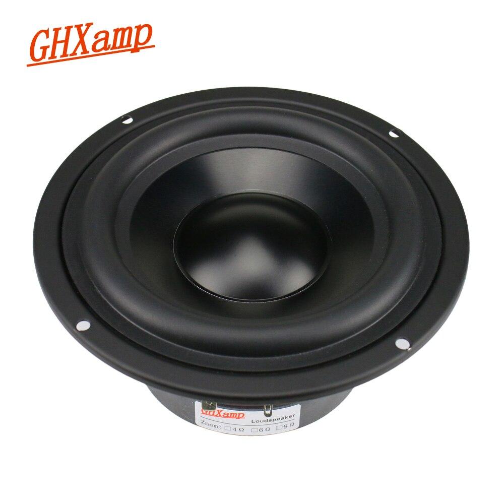 GHXAMP 5 25 inch Woofer Speaker 4ohm 50W Hifi Subwoofer Home Theater Aluminum Ceramic For Bookshelf