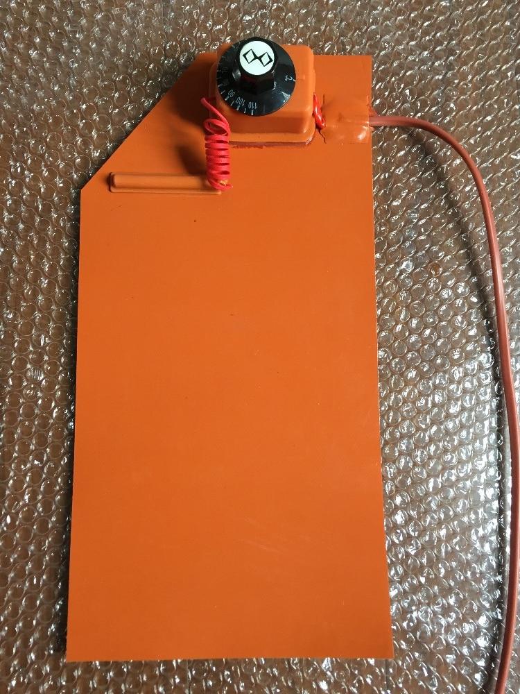 200*300mm 220V 300W Knob temperature control FPB split screen treasure mobile flexible panel heating plate Silicone Heater