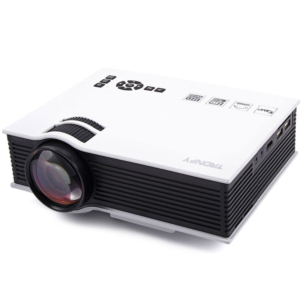 Newest Mini Pico portable Projector UC40 with USB HDMI For Home Theater beamer multimedia proyector Korean Russian Language