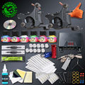 Top Quality Tattoo Kit 2 Tattoo Machine Gun Immoral Tattoo Inks Tattoo Supply  For Beginner