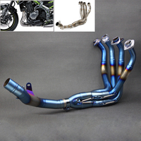 Z900 2017 Motorcycle Exhaust Muffler Pipe Modified Stainess Steel Front Pipe Tube Full System For Kawasaki Z900 2017 z 900 17