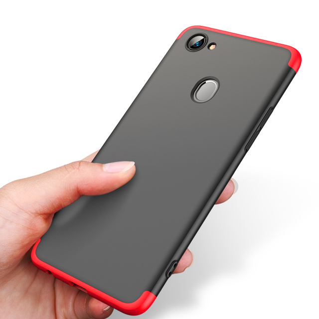 the latest ac8eb ade8a US $4.98 |For OPPO F7 Case Matte multi color Hard Case Business&plain 360  Full Protection Comfortable Texture for OPPO F 7 cover-in Fitted Cases from  ...
