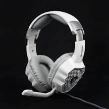 RCmall Stereo Gaming Headsets Mic Noise-Canceling White Cool Respiration for SADES A70