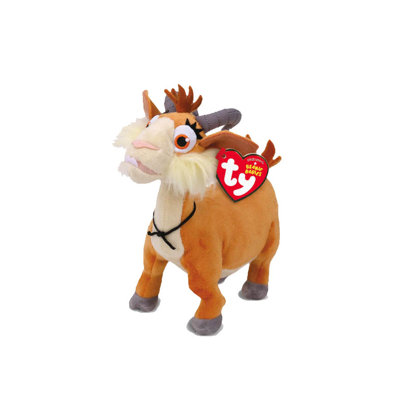 TY Beanie Boos Ferdinand bull and three other sets of plush Goat unicorn toys for children