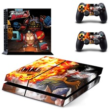 One Piece PS4 Skin Sticker for Sony Playstation 4 Console System and PS4 Two Controller Skins