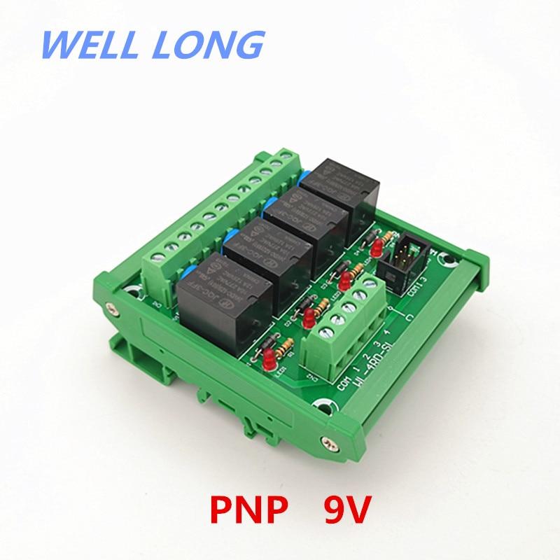 15PCS HK19F-DC 9V-SHG Signal Relay 2A 9VDC 8 Pins