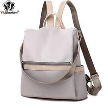Casual Anti Theft Backpack Female 2019 Waterproof Canvas Women Large Capacity Bookbag School Bags for Teenage Girls sac