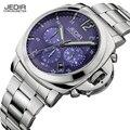 Relojes de Los Hombres Top Luxury Brand JEDIR Deporte Militar de Cuarzo Resistente Al Agua Correa de Acero Inoxidable-Reloj Relogio masculino 2016 Regalo