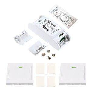 Image 3 - Smart RF Wifi Switch RF 433MHz 10A/2200W Wireless Switch 86 Type ON/Off Switch Panel 433MHz RF WiFi Remote Control Transmitter