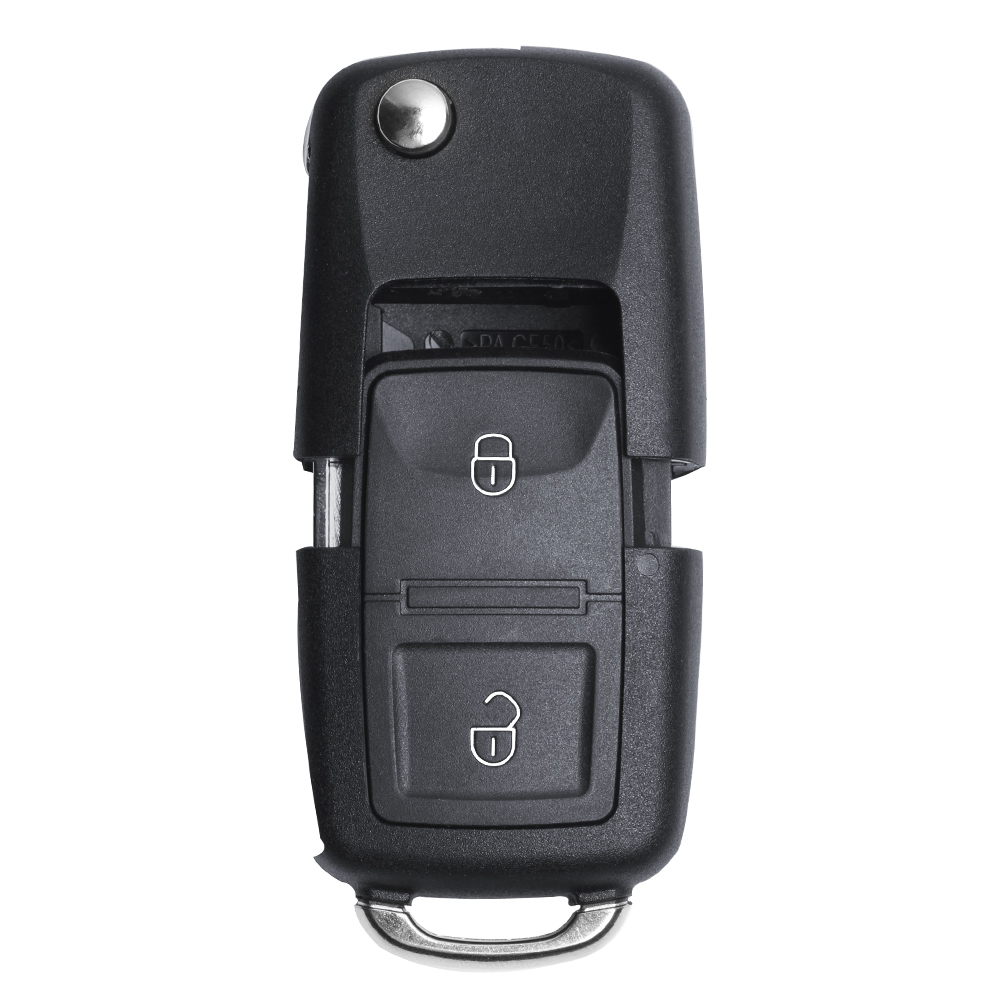 New 434MHz Remote Key 2 Buttons With ID48 Chip 7E0 837 202 For VW Volkswagen