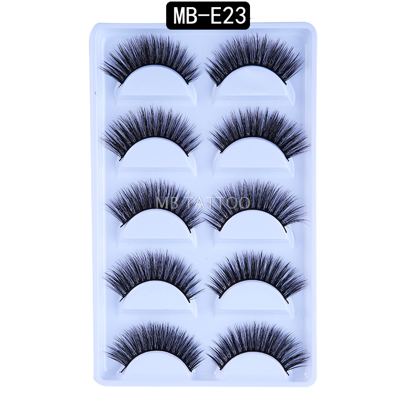 HTB1pDURQVzqK1RjSZFoq6zfcXXa8 New 3D 5 Pairs Mink Eyelashes extension make up natural Long false eyelashes fake eye Lashes mink Makeup wholesale Lashes