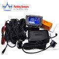 1Set Car LCD Parking Sensor Kit Display 4 Sensors for all cars Reverse Assistance Backup Radar Monitor System 10 optional color