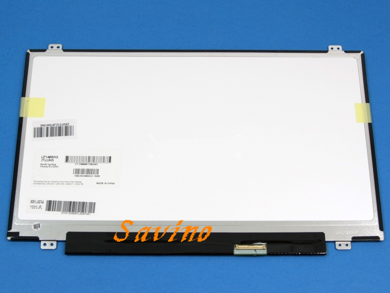 Free shipping A+ 14.0 Laptop LED Screen for N140B6 L06 M140NWR1 LTN140AT08 LP140WH2 TLA2 TLA1 B140XTN02.3 LVDS Display matrix lp140wh2 tlsa fit lp140wh2 tlp1 tlq1 tls1 tlm2 tln1 tln2 ltn140at20 led lvds 1366x768 14 0 inch slim laptop lcd screen 40 pin
