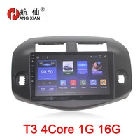 Bway 10.1Car radio for Toyota RAV4 2009 2010 2011 2012 Quadcore Android 7.1 car dvd GPS player with 1 G RAM 16G iNAND