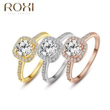 ROXI brand 2013 New arrival,delicate crystal rings,FREE SHIPPING,wedding ring,best gift for a girlfriend,Manual mosaic,101014534