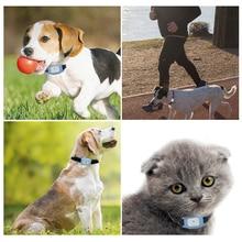MiNi Waterproof Pets GSM GPS Locator Tracker Rastreador Tracking For Pet Dog Cat Adjustable Collar Real Time Track Alarm Device