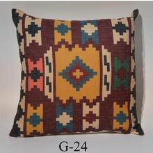 Funda de cojín kilim de lino de algodón funda de almohada folk clásico funda de almohada para cintura vintage funda de almohada lumbar