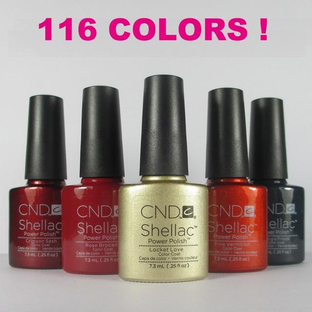 20pcslot New Arrival Cnd Shellac 73ml Gel Nail Polish 116 Fashion
