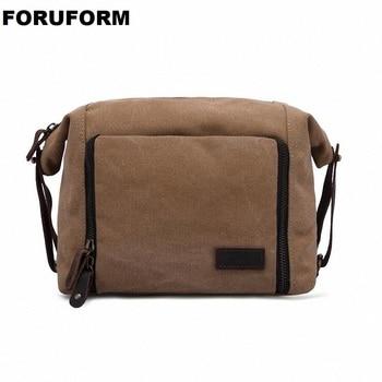 Makijaż torba dobrej jakości mężczyźni kobiety torby mężczyźni duża podróży przypadku niezbędnik kosmetyczny organizator toaletowe Wash Bag torba LI2355