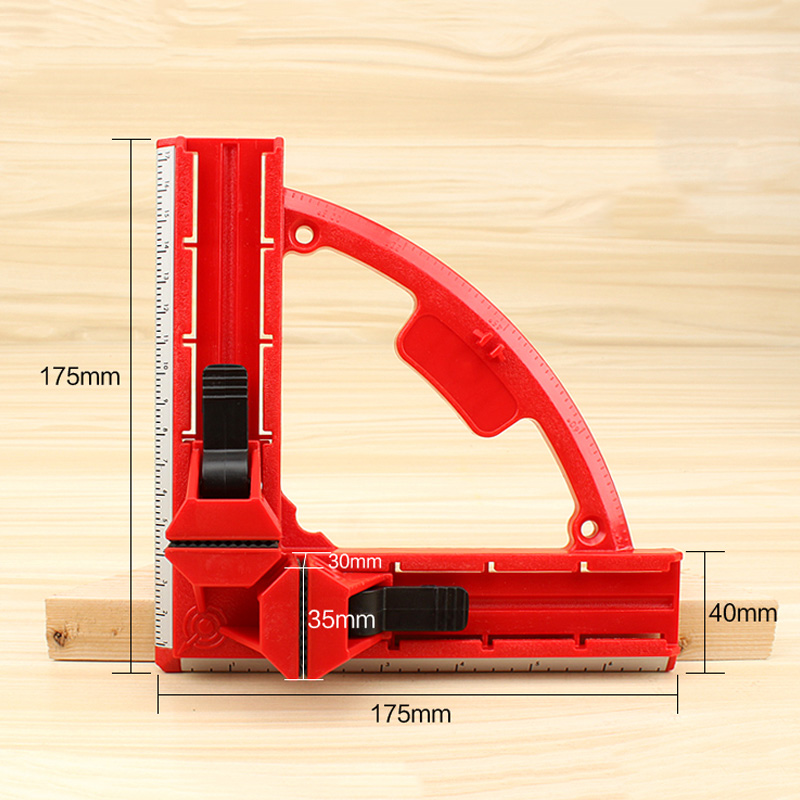 Plastic Right Angle Clamp 90 Degree Woodworking Ruler Picture Photo Frame Square Clamp Clip Holder  MJJ88Plastic Right Angle Clamp 90 Degree Woodworking Ruler Picture Photo Frame Square Clamp Clip Holder  MJJ88