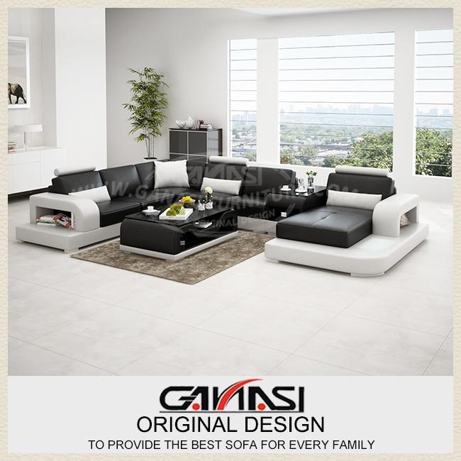 Ganasi corner sofa design modern furniture living room for Living room group sets